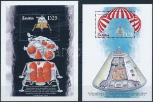 1999 30 éve járt az első ember a Holdon blokksor Mi 419-420