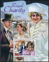 The British royal family half sheet A brit királyi család fél ív