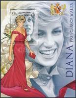 Princess Diana's 15th death anniversary set Diana hercegnő halálának 15. évfordulója blokk