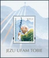 2005 II. János Pál pápa emlékére blokk Mi 162