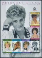 Princess Diana min sheet Diana hercegnő halálának 10. évfordulója kisív