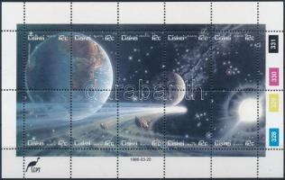 Halley' Comet minisheet, Halley-üstökös kisív