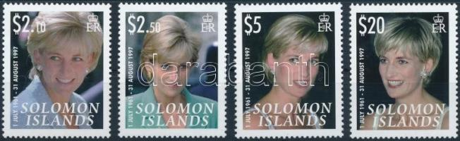 Princess Diana's 10th death anniversary set Diana hercegnő halálának 10. évfordulója sor
