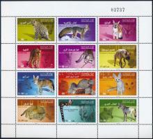 2003 Ragadozó állatok teljes ív Mi 714-725
