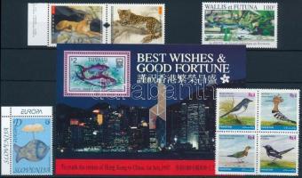 1997-2005 Animals 2 sets + 1 block + 2 stamps, 1997-2005 Állat motívum 2 sor + 1 blokk + 2 db önálló érték