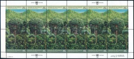 Rescue the forests mini sheet, Az erdők megmentése kisív