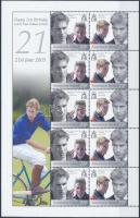 2003 Vilmos herceg 21 éves kisív Mi 904-905