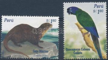 Otter and parrot set, Vidra és papagáj sor