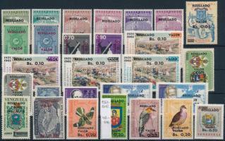 Old stamps with new overprint (minor faults) Régi bélyegek új érték felülnyomással (apró hibák)