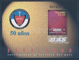 50th anniversary of Secret Service block, 50 éves a titkosszolgálat blokk