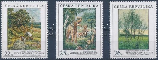 Paintings set Cseh Köztársaság Festmények sor