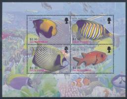 Fish minisheet, Halak kisív