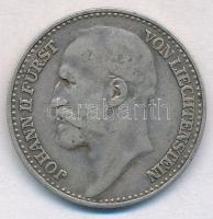 Liechtenstein 1904. 1K Ag II. János herceg T:2,2- Liechtenstein 1904. 1 Krone Ag Prince John II C:XF,VF