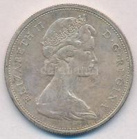 Kanada 1965. 1$ Ag II. Erzsébet T:2 Canada 1965. 1 Dollar Ag Elizabeth II C:XF Krause KM#64.1