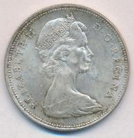 Kanada 1966. 1$ Ag II. Erzsébet T:2 Canada 1966. 1 Dollar Ag Elizabeth II C:XF Krause KM#64.1