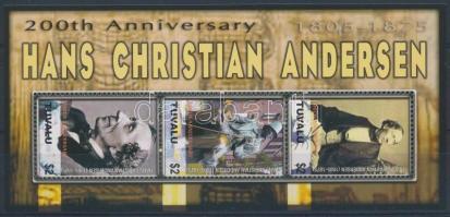 Andersen minisheet, Andersen születésének 200. évfordulója kisív