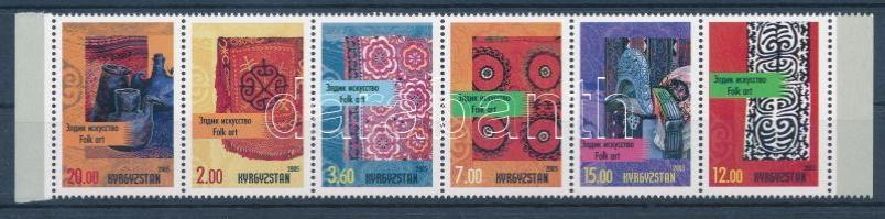 Folklore margin stripe of 6, Népművészet ívszéli hatoscsík