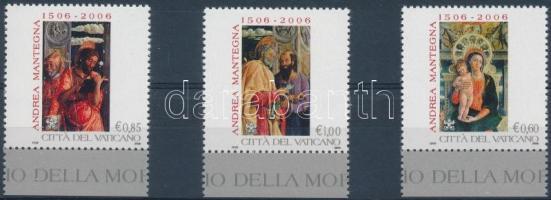 Andrea Mantegna festő halálának 500. évfordulója ívszéli sor, Andrea Mantegna margin set