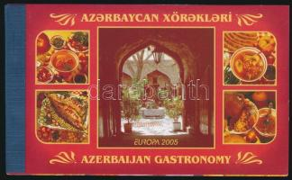 CEPT Gastronomy stamp-booklet, EUROPA Gasztronómia bélyegfüzet