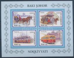 Baku's traffic history block, Baku városi közlekedés története blokk