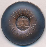 Belgium 1993. FIBRU 1853 Br emlékérem eredeti tokban (34mm) T:1,1- Belgium 1993. FIBRU 1853 Br commemorative medallion in original case (34mm) C:UNC,AU