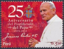 25th anniversary of John Paul II.'s papacy, II. János Pál 25 éve pápa