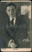 Góth Sándor (1869-1946): színész rendező aláírt képeslapja