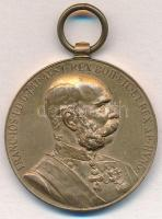 1898. Jubileumi Emlékérem Polgári Alkalmazottak Számára Br kitüntetés mellszalag nélkül T:2 Hungary 1898. Commemorative Jubilee Medal for the Civil State Officials Br decoration without C:XF NMK 250.