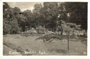Zvolen, Mestsky Park / park, Zólyom, Városliget