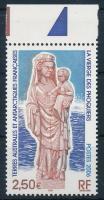 Our Lady statue margin stamp Szűzanya szobor ívszéli bélyeg