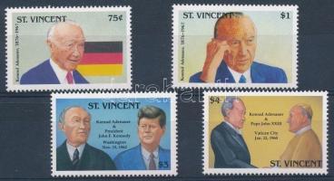 25th anniversary of Konrad Adenauer's death set, Konrad Adenauer halálának 25. évfordulója sor