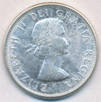 Kanada 1963. 50c Ag II. Erzsébet T:2 Canada 1963. 50 Cents Ag Elizabeth II C:XF