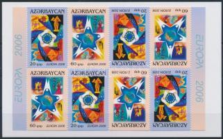Europa CEPT stamp-booklet sheet Europa CEPT: Integráció bélyegfüzet ív