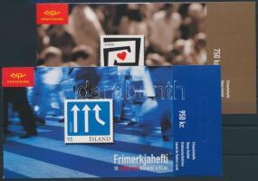Europa CEPT 2 stamp-booklets, self-adhesive stamps, Europa CEPT 2 db bélyegfüzet, öntapadós bélyegek