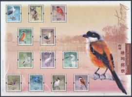 Definitive Birds block, Forgalmi: Madarak blokk