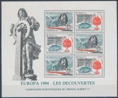 Europa CEPT, Discoveries and inventions block, Europa CEPT, Felfedezések és találmányok blokk