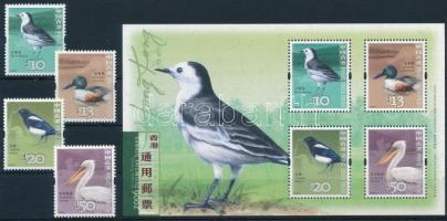 Definitive Birds set + block Forgalmi: Madarak sor + blokk