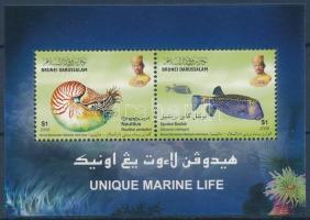 Marine wildlife block Tengeri élővilág blokk
