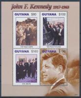 John F. Kennedy mini sheet, John F. Kennedy 90. születésnapja kisív
