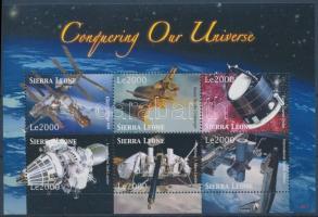 2006 Űrutazás és űrkutatás kisív Mi 4959-4964
