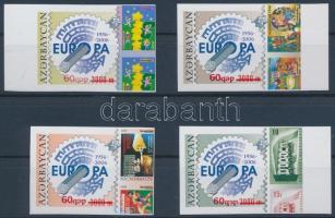 50th anniversary of the Europe CEPT  imperforated margin  set 50 éves az Europa CEPT bélyeg ívszéli vágott sor