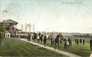 York, The Racecourse / horse riding course (EK)