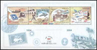 Indian mail block, 150 éves az indiai posta blokk