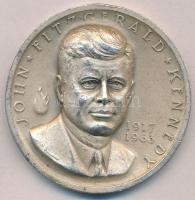 Amerikai Egyesült Államok 1963. John Fitzgerald Kennedy 1917-1963 peremen jelzett Ag emlékérem, sorszámozott (35,45g/0.999/38mm) T:2 kis ph. USA 1963. John Fitzgerald Kennedy 1917-1963 commemorative Ag medallion, hallmark on edge, with serial number (35,45g/0.999/38mm) C:XF small edge