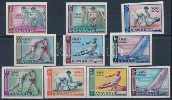 1965 Nyári olimpia, Tokió sor Mi 31-40 B