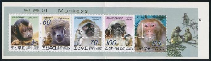 Monkies stamp-booklet Majmok bélyegfüzet