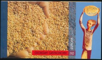 Gastronomy stamp-booklet, Gasztronómia bélyegfüzet