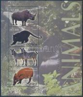 Mammals mini sheet, Emlősállatok kisív