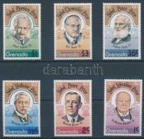 Nobel Prize winners set, Nobel díjasok sor