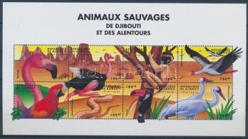 Animals of the World mini sheet, Állatok a világ minden tájáról kisív